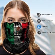 Scarf Headband Mask Neck-Warmer Sugar Shemagh Mexico-Spain Buff Camo Balaclava Army Skull