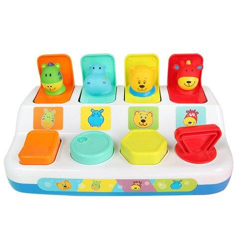 musica luz memoria formacao interativo pop up forma animais brinquedo criancas bebe aprendizagem desenvolvimento brinquedo