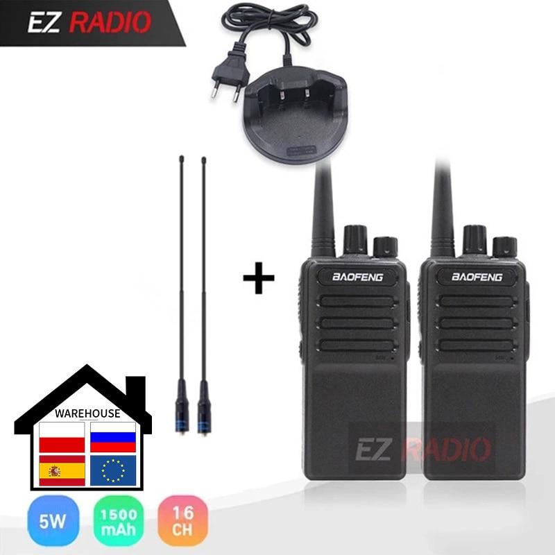 Hot 2019 Baofeng BF-V9 Baofeng C2 Radio USB Fast Charger Walkie Talkie 5W 1500mAh UHF 400-470MHz Two Way Radio BF-888 CB Radio