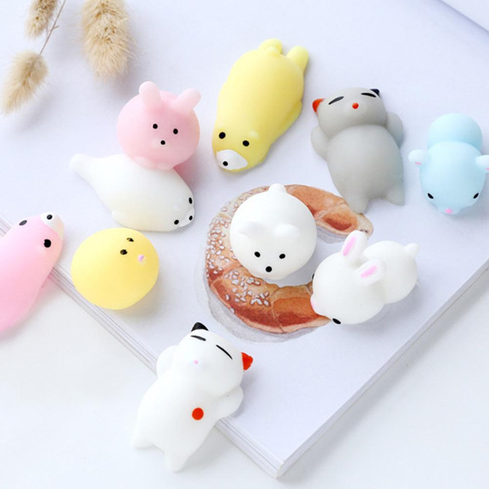 Kuulee Soft Squishy Pets Cute Lovely Chubby Animal Toys Stress Relief And Fun Play Toy For Kids And Adults