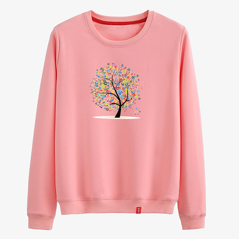 Women's  Sweater Fashion Female  Gray Jumper Sweater Long Sleeve Xmas Deer Printed Pullover