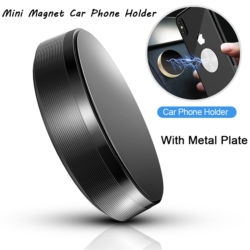 Magnetic Car Phone Holder Dashboard Magnet Cell Phone Stand Steering Wheel Holder Magnetic Wall Holder For IPhone Samsung Xiaomi