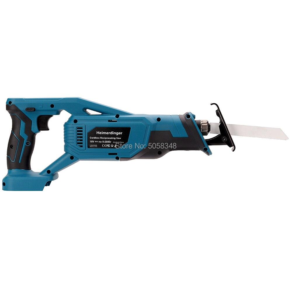 Tools : Lithium battery reciprocating saw 18v cordless reciprocating saw without battery
