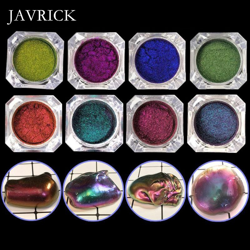 Mirror Pearl Powder Epoxy Resin Glitter Chameleon Pigment Resin Craft Tool DIY Accessories Jewelry Making Tool
