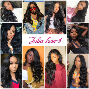 Image 5 - Brazilian 13x4 Lace Front Wig Pre Plucked Body Wave Human Hair Wigs with Baby Hair Ali Julia Lace T Part Closure Wig Fake Scalp