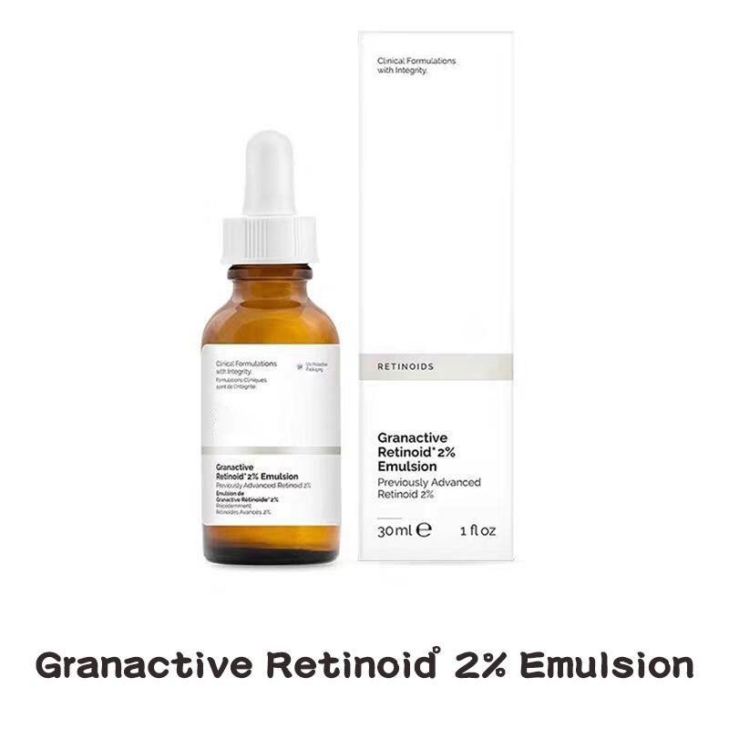 The Ordinary Peeling Solution Face Serum Granactive Retinoid 2% Resveratral Anti Aging Firming Reduce Wrinkle The Ordinary Toner