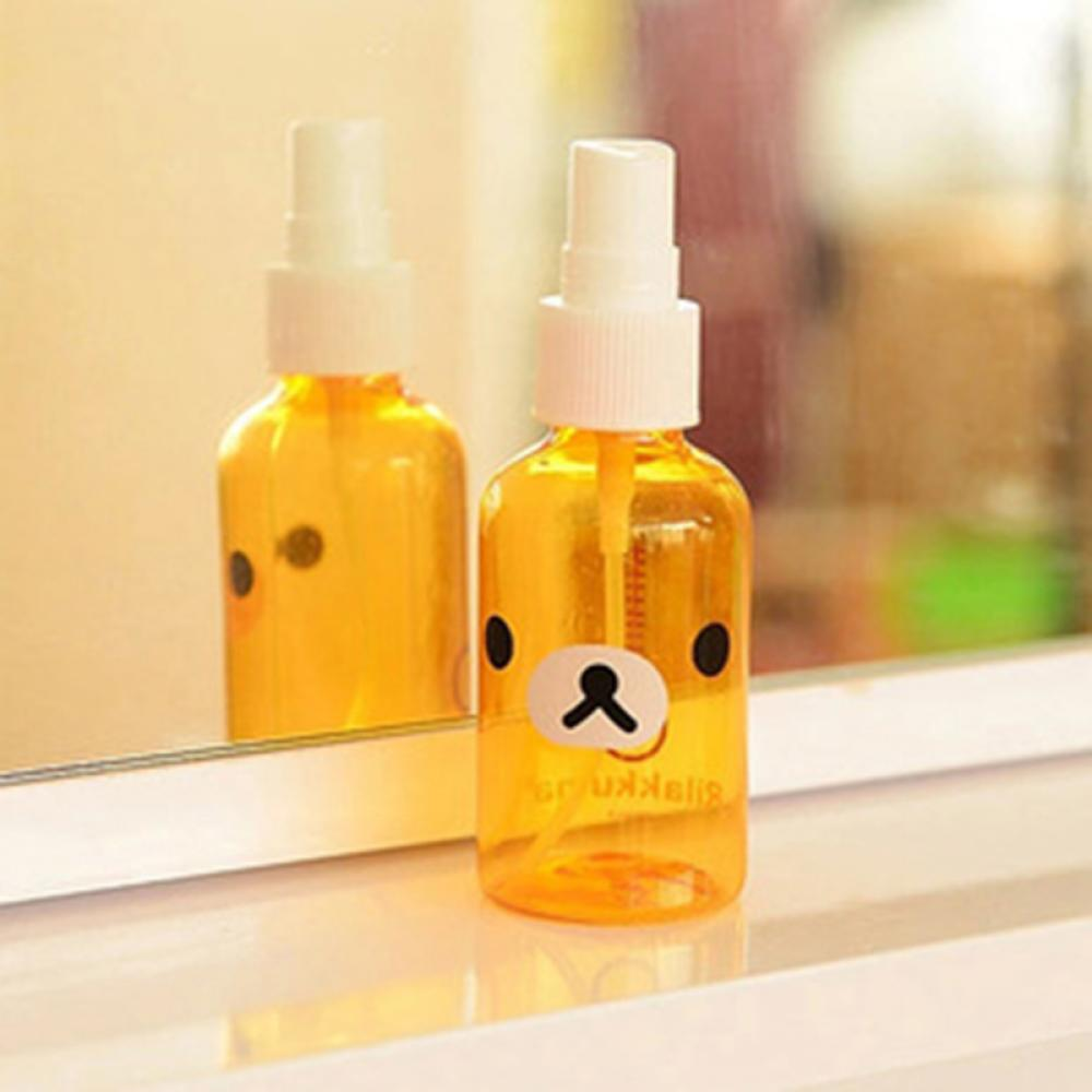 30ml Cartoon Rilakkuma Bear Skin Replenishment Perfume Portable Spray Bottle 1 pc Fashion New Refillable