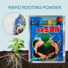 10 sztuk szybki proszek korzeniowy Extra Fast Abt roślin korzeń kwiat przeszczep nawóz wzrost roślin poprawić przetrwanie zakorzenienie sadzonka