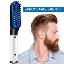 2,0 Многофункциональный расческа для бороды расческа выпрямитель для бороды выпрямитель для бороды выпрямитель для волос расческа для выпрямления бороды расческа для волос быстрый стайлер для волос для мужчин VIP LINK