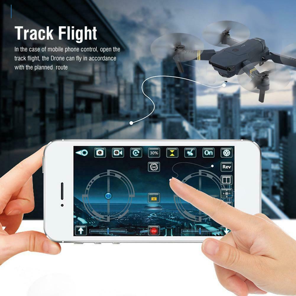 Drone X Pro WIFI FPV 1080P HD Camera 3Batteries Foldable Selfie RC Quadcopter HK