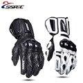 SSPEC Motorrad Handschuhe Leder Carbon Fiber Warm Schutz Handschuhe Wasserdicht Racing Handschuhe Motocross Reiten Outdoor Glvoes XXL