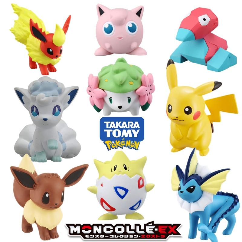 Buy Online  takara TOMY tomica POKEMON figures MONSTER anime figure baby toys hot pop kid dolls diecast resin p