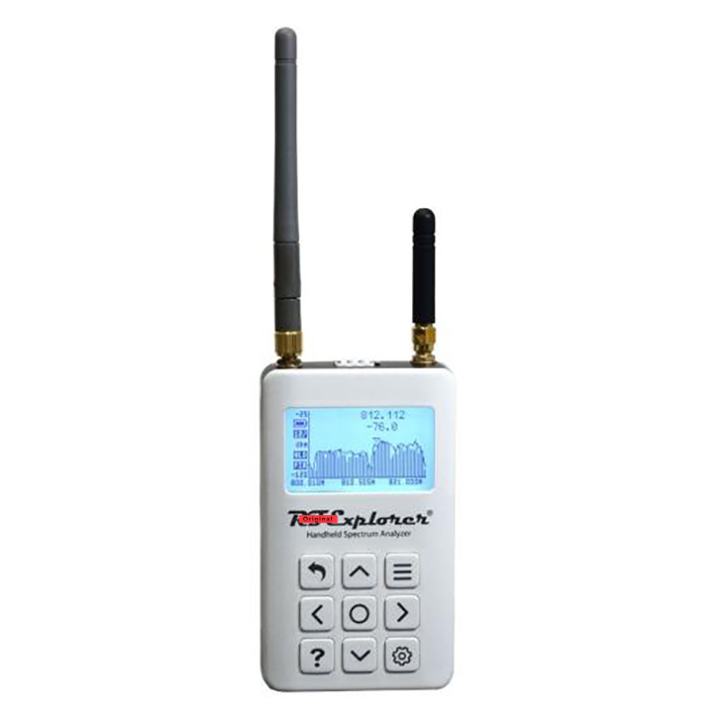 Novo rf explorer ism combo mais analisador de espectro para o analisador de sinal de teste de interferência 50khz 2.35ghz a 2.55ghz