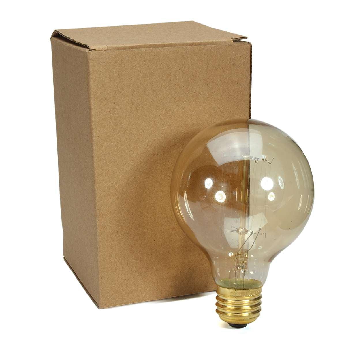 40W Edison Bulbs Vintage Style Incandescent Light Bulb Dimmable E14 Base Retro Lighting