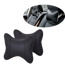 Car Genuine Leather Cushion Covers Pillow For Audi A3 A4 B6 B8 B7 B5 A6 C5 C6 Q5 A5 Seat Leon Mitsubishi ASX Outlander Lancer