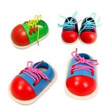 Jogo de memória 1 peça crianças diy eva relógio aprendizagem educação moda criança lacing sapatos montessori crianças brinquedos de madeira