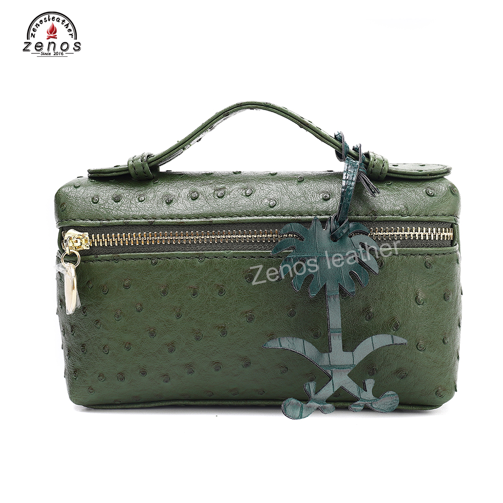 Hot DealsZenos Key-Chains Bag-Accessories Crocodile Ksa-Logo Customize Charm Emboss Fashion Women