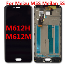 For Meizu M5S Meilan 5S M612H M612M LCD Display Touch Screen Mobile Pho