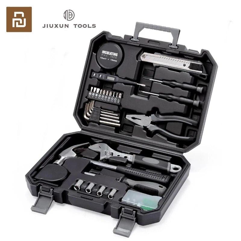 Xiaomi JIUXUN 60Pcs Hand Tool Set General Multifunctional Opening Repair With Screwdriver...