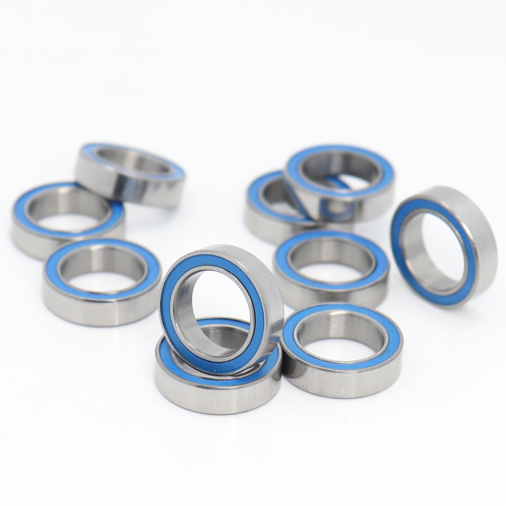 6701-2RS BLUE Rubber Sealed PRECISION Ball Bearing 5 PCS 12x18x4 mm