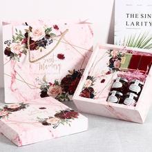Düğün hediye kutusu gelin nedime düğün şampanya doğum günü önerisi kutusu kız kozmetik saklama kutusu Dropshipping
