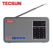 TECSUN X3 FM Stereo radyo MP3 çalar PC hoparlör dijital ses ile USB Disk doğu ayar modu taşınabilir