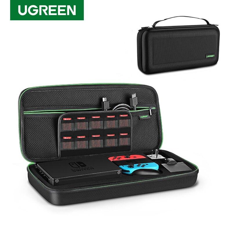 Bolsa de almacenamiento Ugreen para Nintendo Switch Lite Nintendos, carcasa de consola, carcasa resistente para Nintendo Switch, accesorios NS