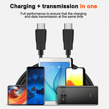 GOOGHO PD 60W Double 3A Quick Charge USB Type C to USB Type C Cable For Samsung Support PD 60W QC3.0 Cable For Type-C Devices(China)