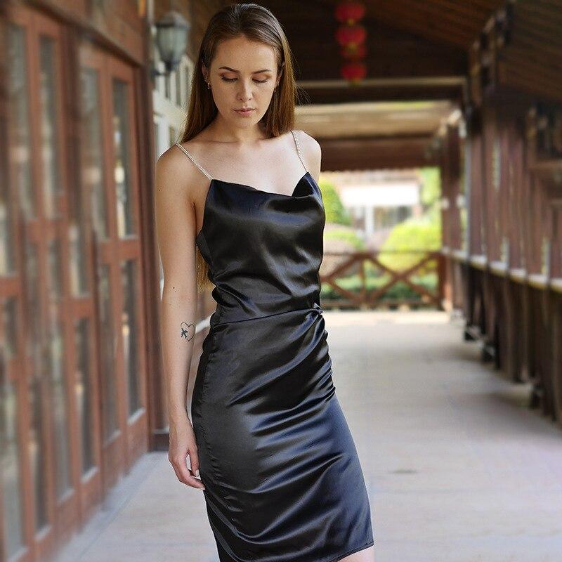 Glitter strap Dress