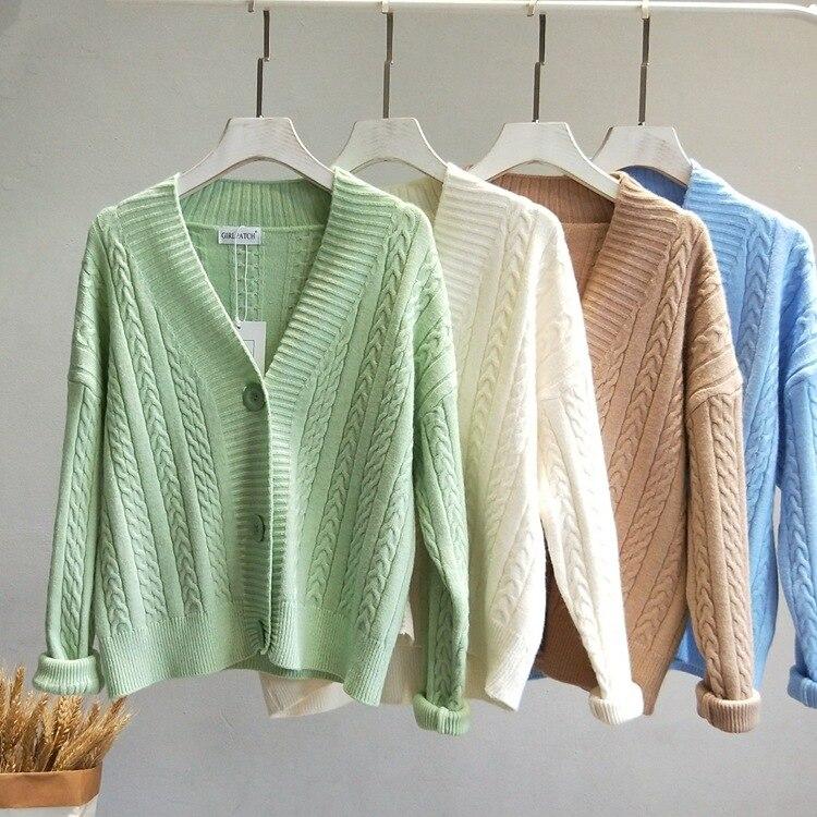 2019 New Women Cardigans Fashion Sweater