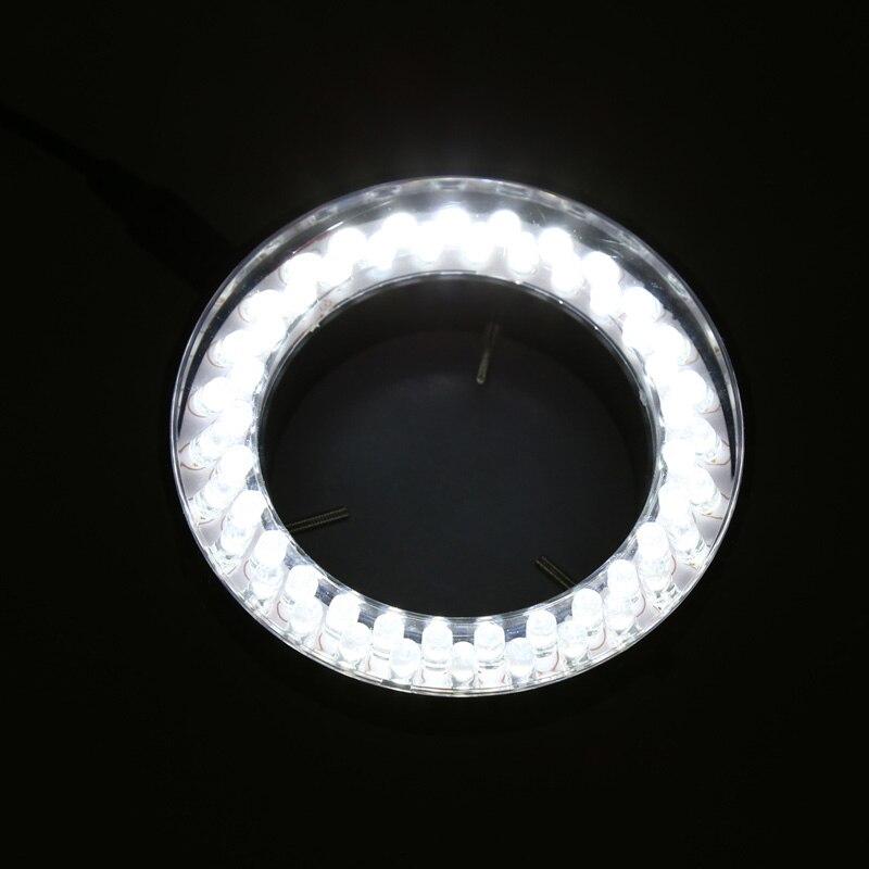 56 LED Adjustable Ring Light illuminator Lamp For STEREO ZOOM Microscope 94PC|Microscopes| |  - title=