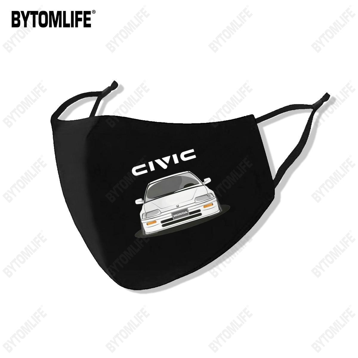 2021 new Civic Vtec Boost маска Автомобильная изготовлен из полиэстра, стирающаяся дышащая многоразовые Водонепроницаемый-и пыленепроницаемости: хло...