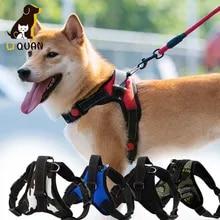 Harness Vest Pets-Accessories Chest-Strap Dog Pet-Large Walk-Out Soft for Medium