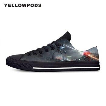 Zapatos informales para hombre, moda moderna, moda moderna, moda, película de ciencia ficción, película Ready Player, un solo estampado pintura, zapatos para parejas
