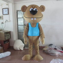 Curious George Monkey Mascot Costumes Cartoon Fancy Dress for Adult animal large brown Halloween Party dress