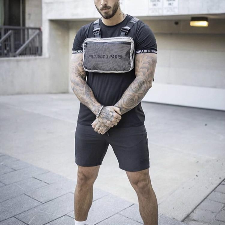 2020 Men Oxford Tactical Chest Rig Bag Summer Streetwear Shoulder Vest Waist Bag Casual Hip Hop Fanny Packs Male