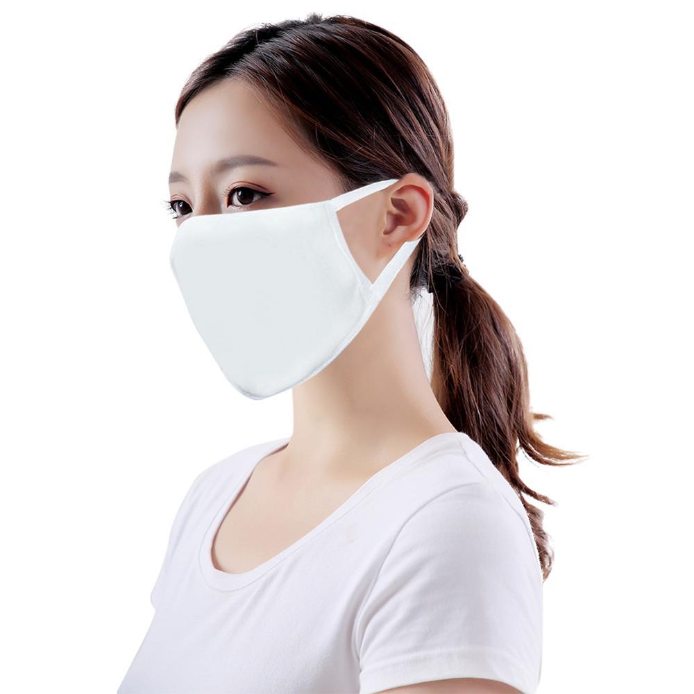 10 Pcs Fashion Women Cotton Mask Mouth Double Layer Disposable Anti-Dust  PM2.5 Protection  Washable Environmental