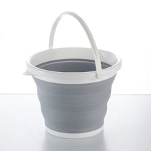 040Folding Bucket Portable Retractable Plastic Household Portable Thickening Travel Outdoor Car Wash Bucket Fishing Barrel fishing box eva customization easy to clean box customized baiting bucket thickening fishing bucket waterproof case