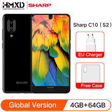 Globale Versione Sharp Aquos C10 S2 4 Gb di Ram 64 Gb Rom Snapdragon 630 Octa Core 5.5 ''Fhd + 2700 Mah 12.0MP 4G Lte Telefoni Cellulari(China)