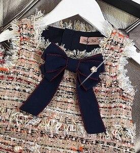Image 5 - תינוק בנות מערבי אופנה אפוד שמלת מסיבת שמלת ילדה המפלגה נסיכת שמלה חדש KidsSpring סתיו חורף בגדים