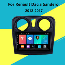 For Renault Dacia Sandero 2012-2017 2 Din Android 9 Inch Car Multimedia Player WIFI FM GPS Navigation System Head Unit Stereo