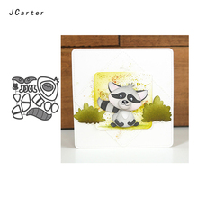 JC Metal Cutting Dies for Scrapbooking Dog Fox Die Cut Card Make Stencil Craft Model Paper Knife Album Decoration 2019 New