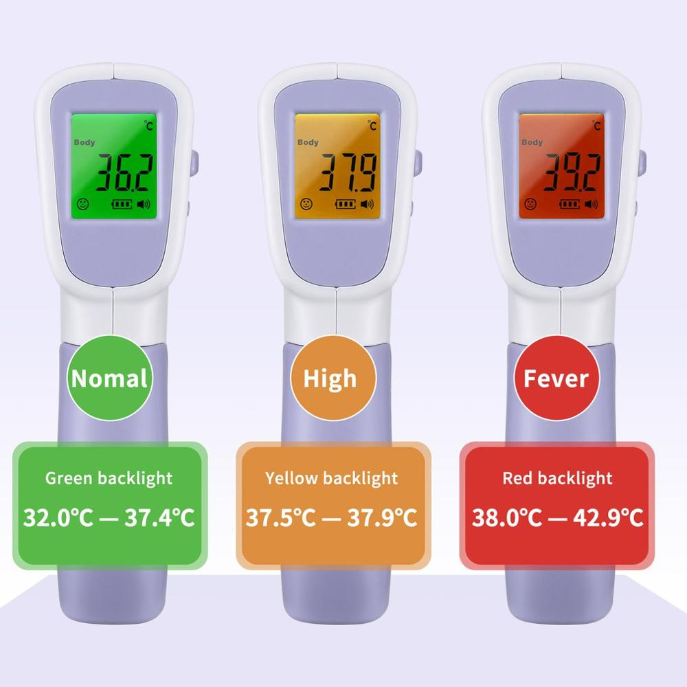 Forehead Thermometer Infrared digital Thermometer For Measuring Human Body Temperature High-Precision Temperature Measuring Tool