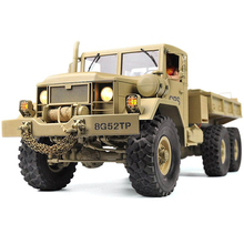 RC Truck Remote Control Military vehicle Transporter Off-Road Monster 6WD Tactic