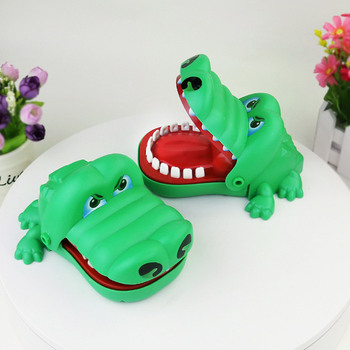 Jokes Teeth Bite Toy Biting Finger Dentist Game Funny Crocodile Pulling Teeth Toys Kids Classic Biting Hand Crocodile Games Gift 2