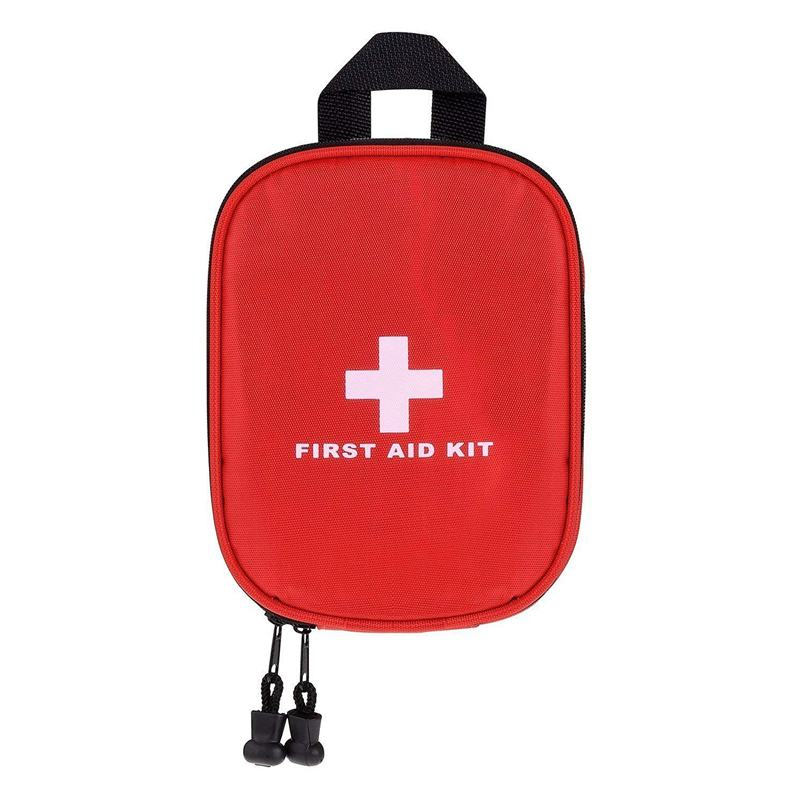 ABKK-First Aid Kit- Medical Emergency Kit Waterproof Portable Essential Injuries For Car Kitchen Camping Travel Office Sports An