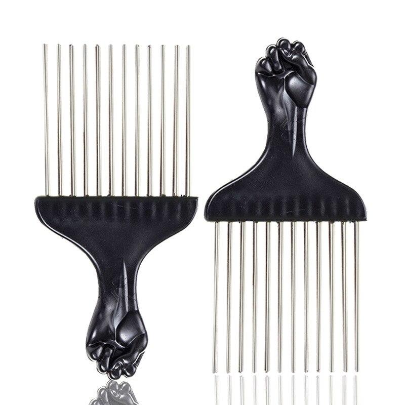 3 pcs dentes largos metal pente encaracolado 01