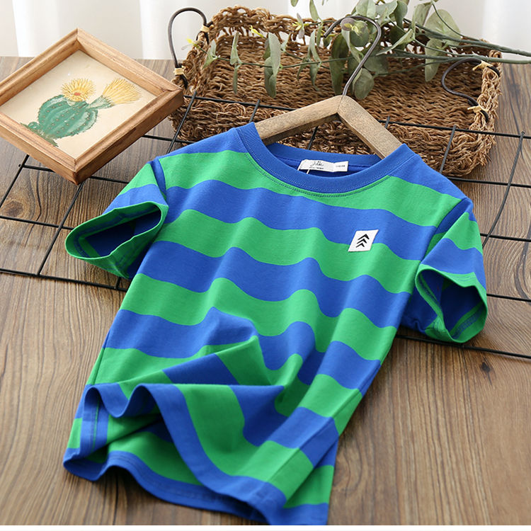 VIDMID Kids Boys T-shirt Summer Baby Boys Cotton Tops Toddler Tees Clothes Children Clothing T-shirts Short Sleeve Summer P111 3
