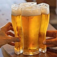 Beer Mug Mug-Cup Separable Funny Party Transparent Large-Capacity Creative Home Bar Glass