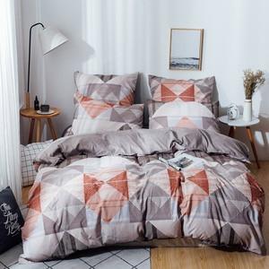 Image 2 - Yaxinlan Bộ Chăn Ga Gối Cotton Nguyên Chất Noctilucent 2 Màu Vật Có Hoa Mẫu Hình Hoa Giường Vỏ Chăn Gối 4 7 chiếc